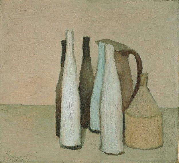 Morandi, Natura morta, 1954